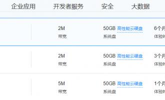 腾讯云产品免费试用,4核8G5M云服务器免费试用1个月